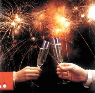 brindis feliz ano nuevo
