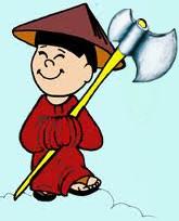 chino hacha
