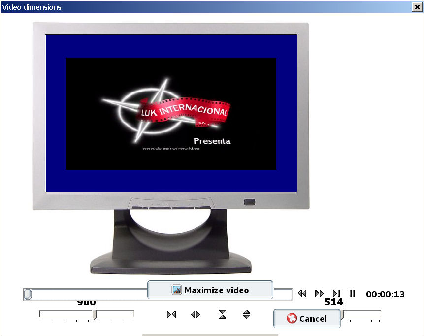 convertir ogm a avi Pocket DivX Encoder video dimensions