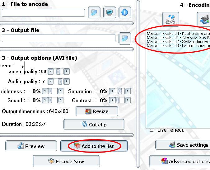 convertir ogm mkv avi Pocket DivX Encoder batch video