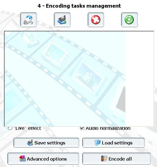 convertir ogm mkv avi Pocket DivX Encoder encoding tasks management
