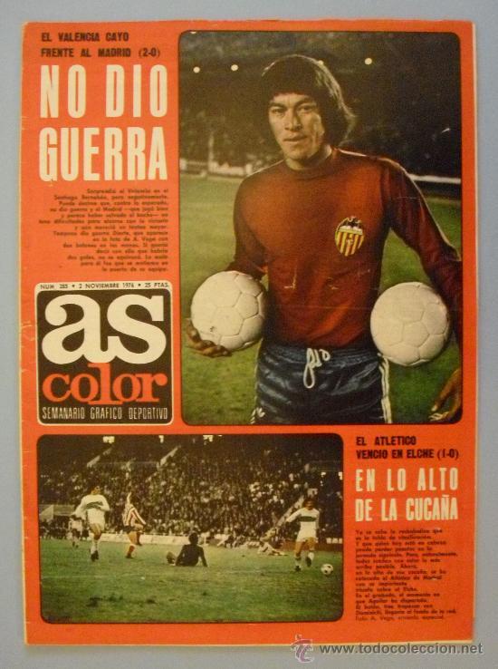 diario As color 1976