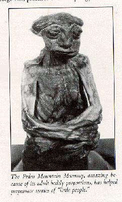 esqueleto momia montanas pedro pequeno