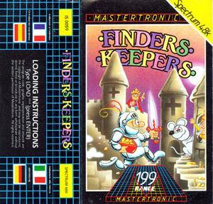 finders keepers amstrad spectrum