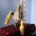 futurama-lego-planet-express-bender-borracho