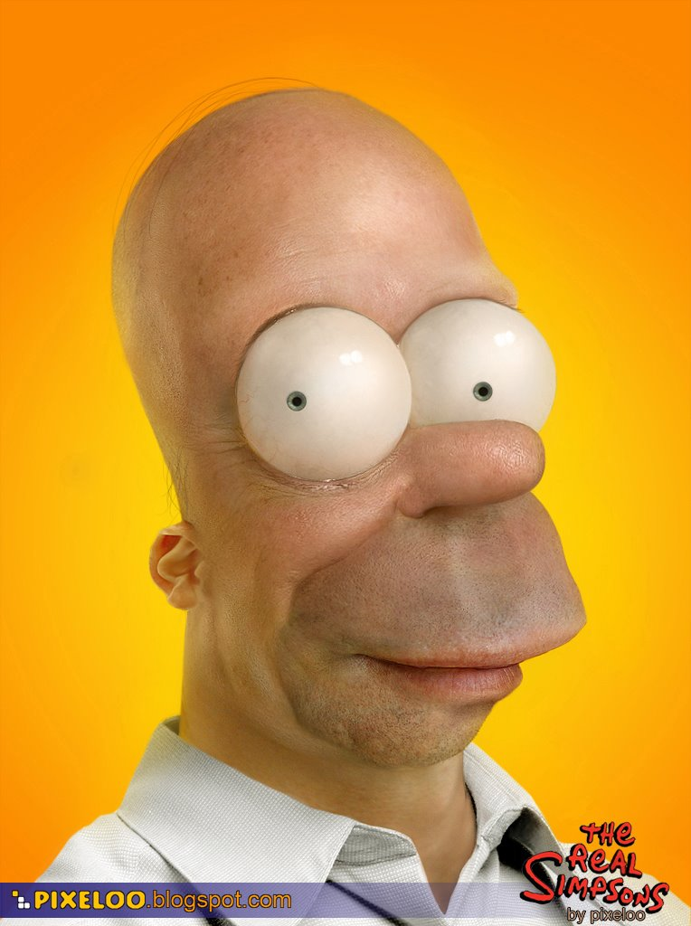 homer homero real simpson