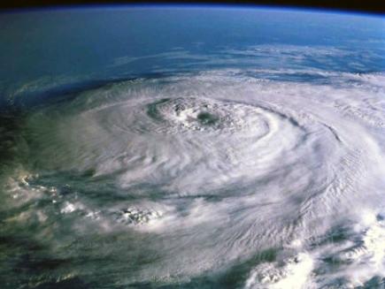 huracan hurricane satelite
