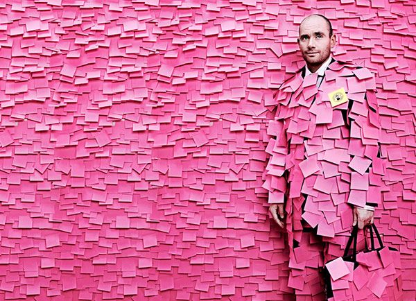 imagenes-arte-post-it-rosa