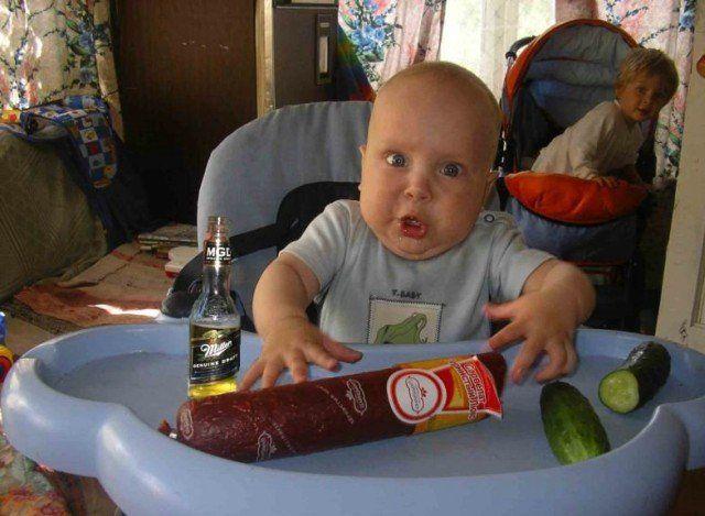 imagenes-graciosas-bebe-chorizo