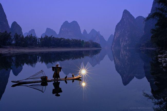 naturaleza-bella-china-lago