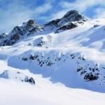 nieve montanas