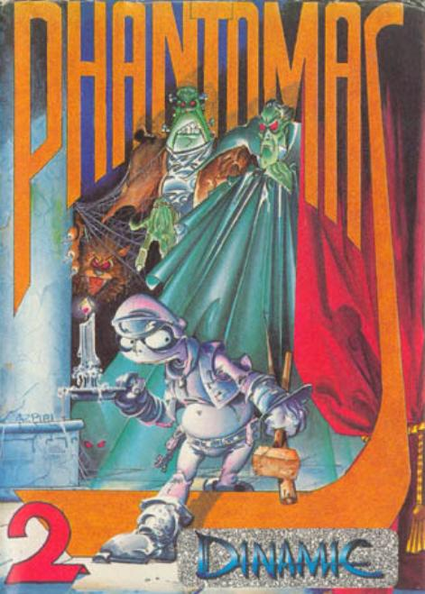 phantomas 2 amstrad