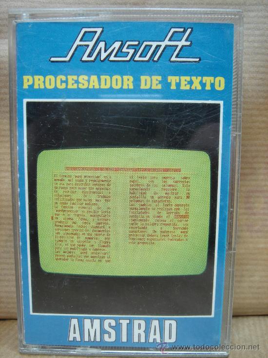 procesador texto amstrad