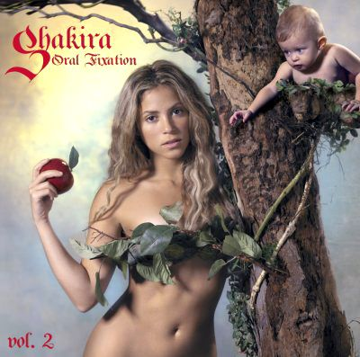 shakira_oral_fixation_vol_volume_2_album_cover