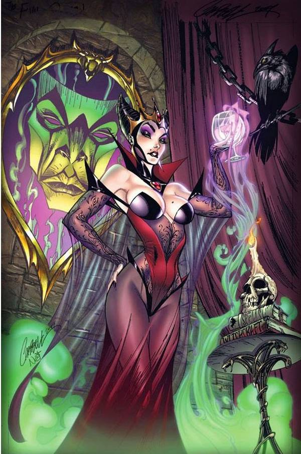 Jeffrey Scott Campbell bruja disney malefica bella