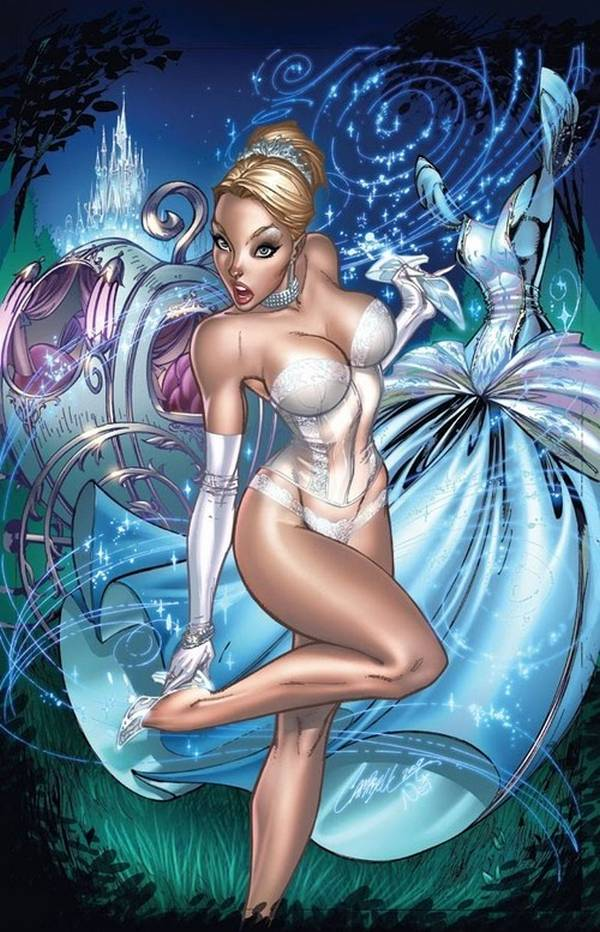 Jeffrey Scott Campbell princesas disney cenicienta