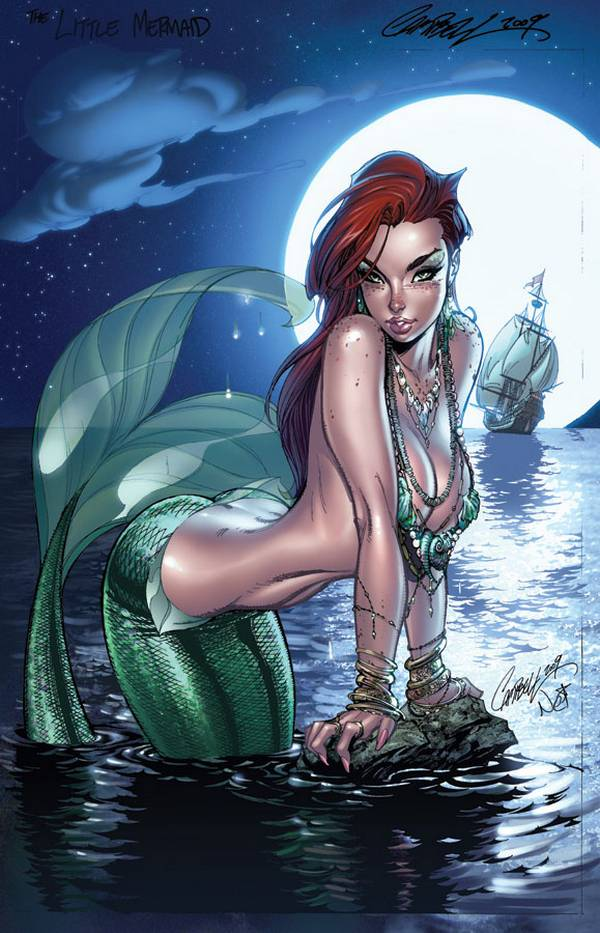 Jeffrey Scott Campbell princesas disney sirenita