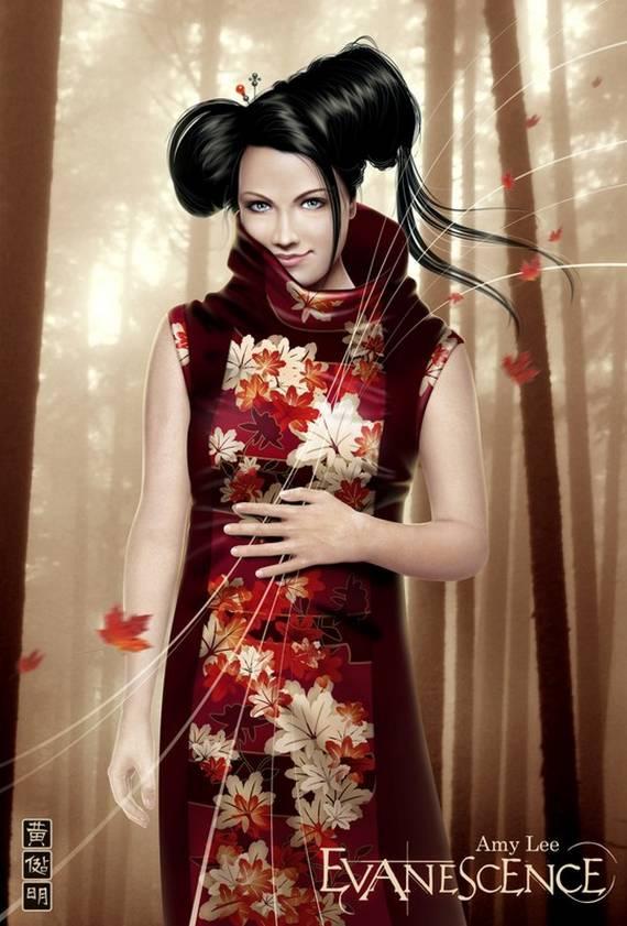 Mario Wibisono Raynkazuya Amy Lee Evanescence