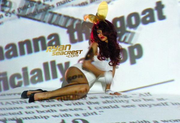 Rihanna SM s and m music video