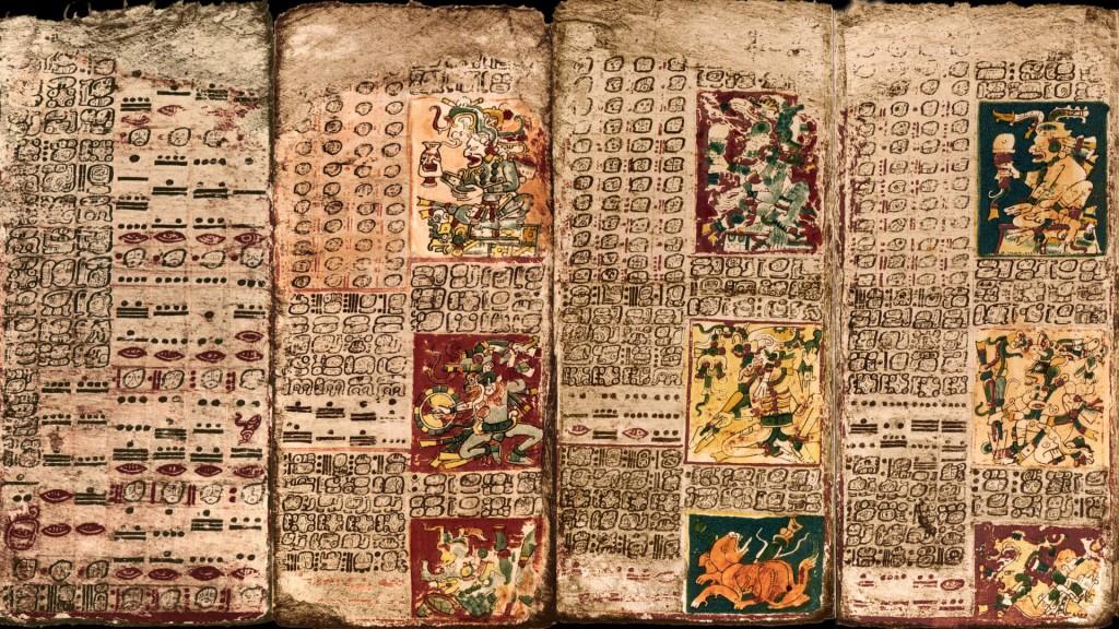 codice dresde venus mayas calendario 2