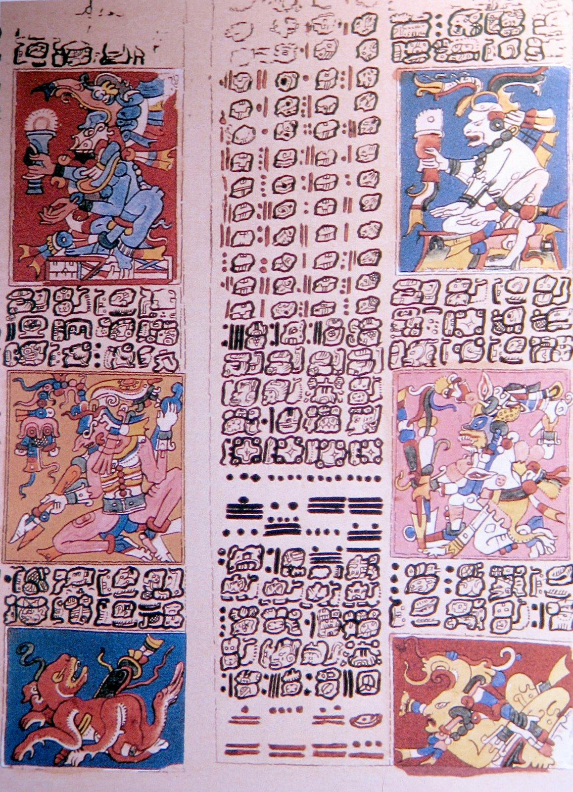 codice-dresde-venus-mayas-calendario Facsimile of Dresden Codex