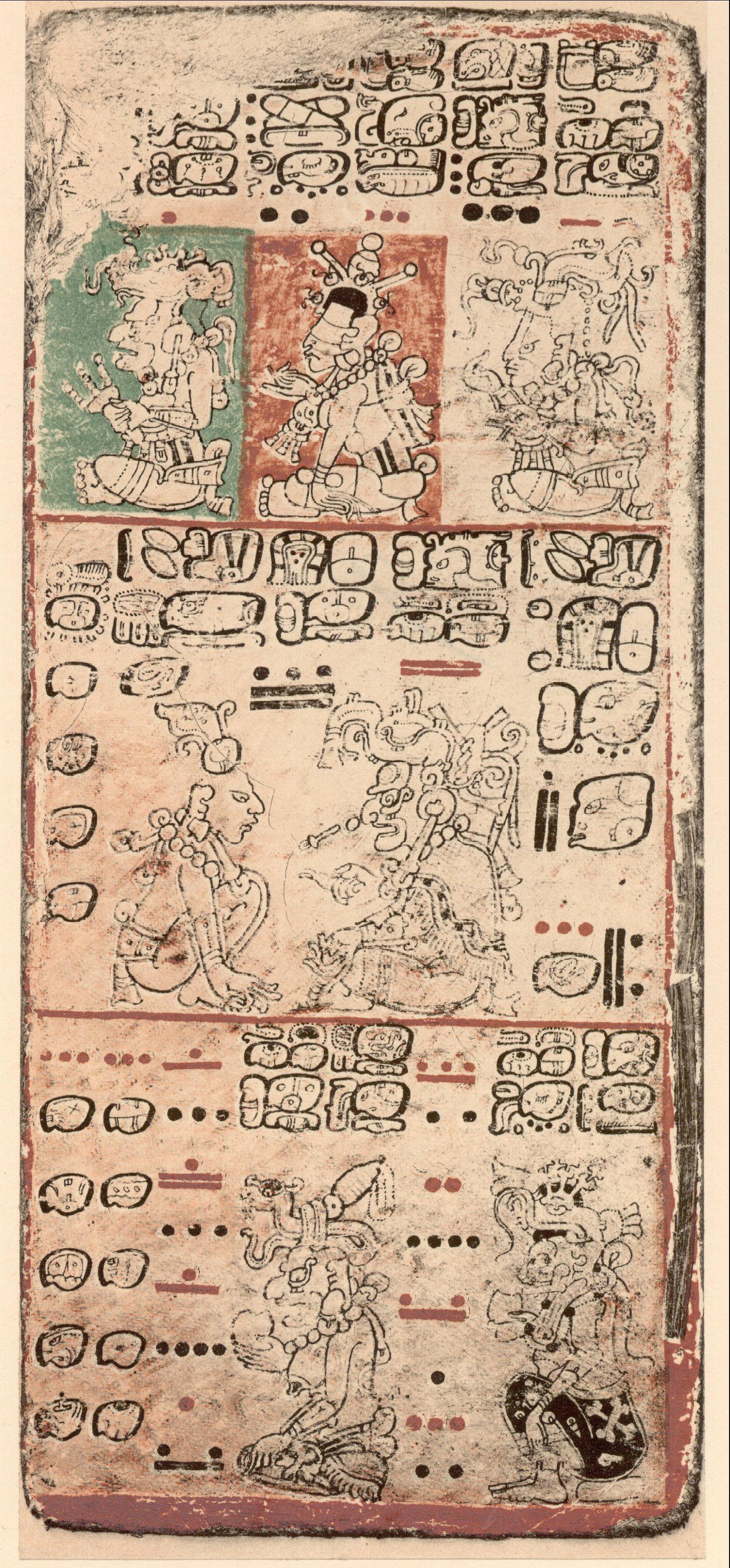 codice dresde venus mayas calendario