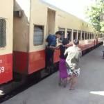 Cómo coger un tren en Rangún, Myanmar