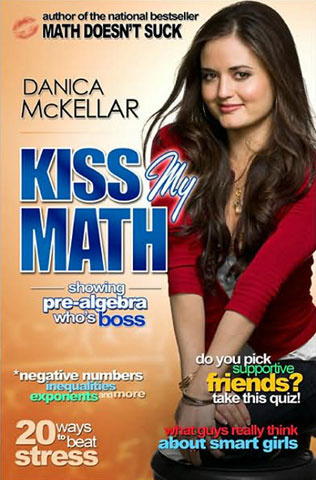 danica-mckellar-kiss my math showing prealgebra whos boss