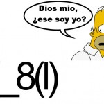 emoticono homer simpson