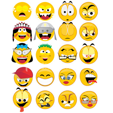 emoticonos caritas chat