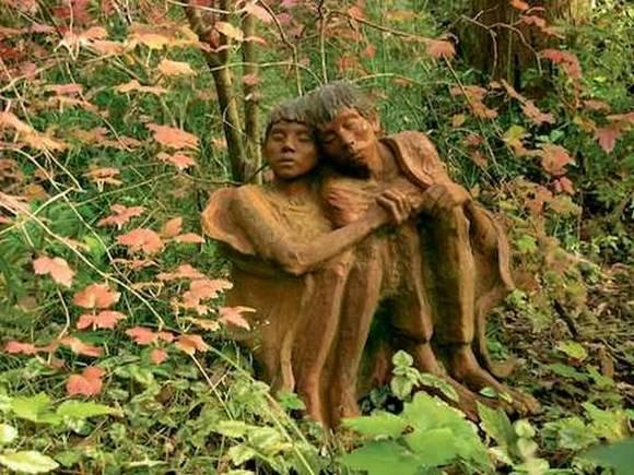esculturas madera fantasia magia