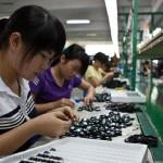 Las fábricas de China