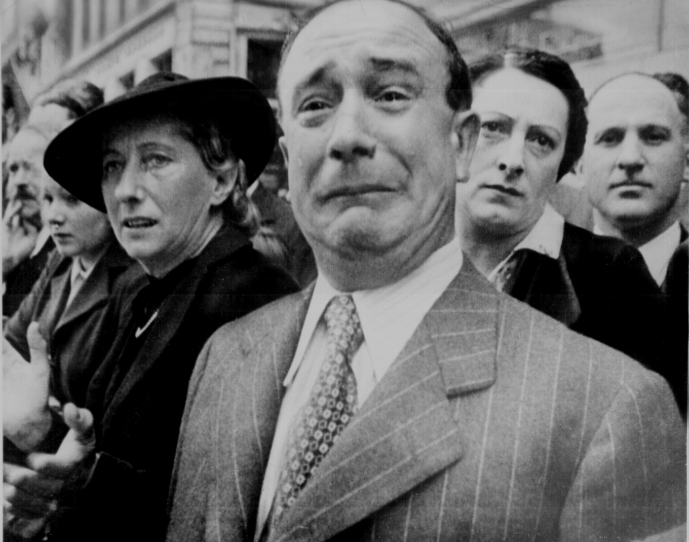 fotografia frances llorando africa ejercito II guerra mundial