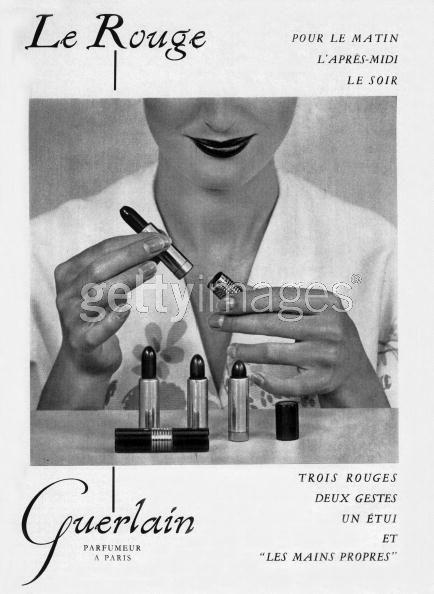 guerlain lapiz labios lipstick 1953