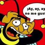 hombre abejorro simpsons ay no me gusta