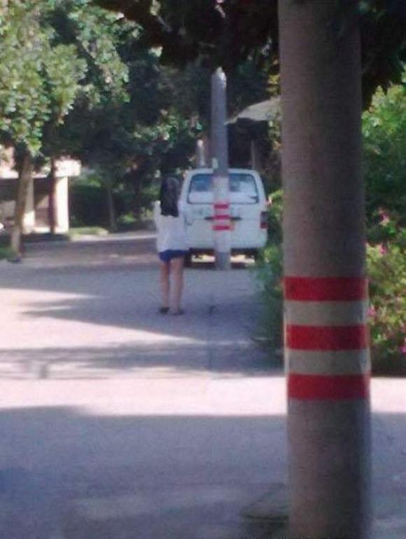ilusion optica hombres morena carretera 2