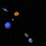juego gravedad Slingshot Orbit