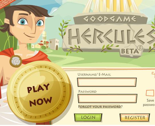 Juego de guerras y luchas Hércules