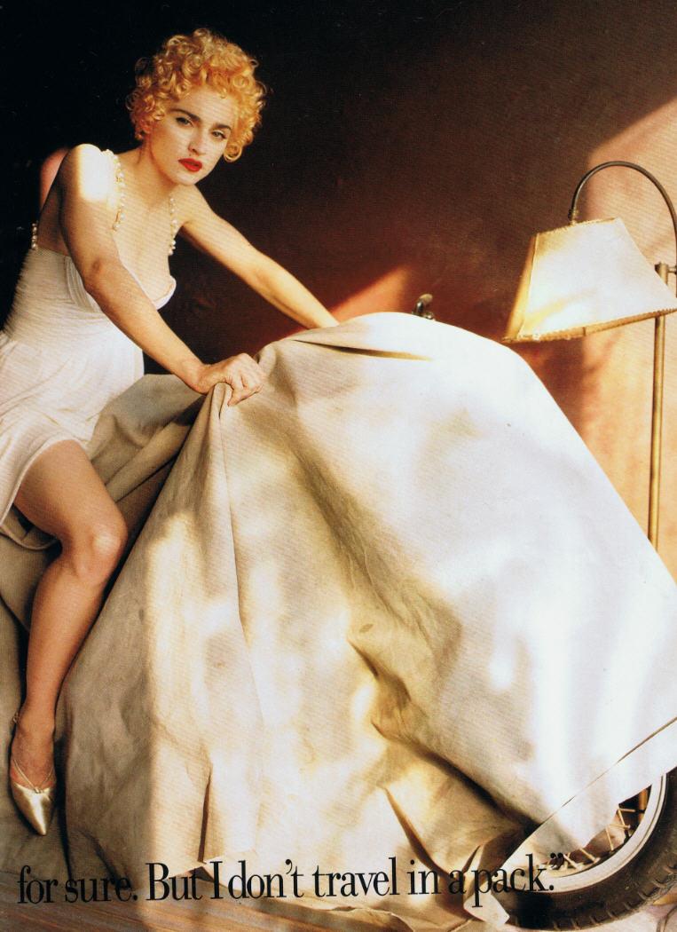 madonna vanity fair helmut newton white heat