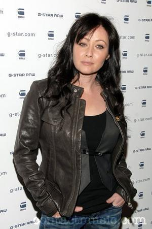 shannen doherty 2010 fashion week new york