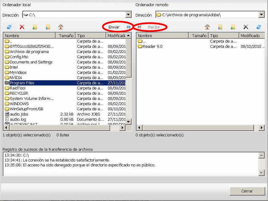 teamviewer escritorio remoto enviar recibir archivos