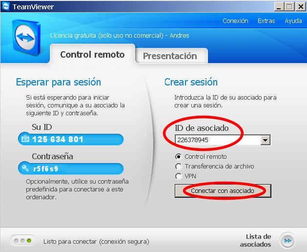 teamviewer escritorio remoto programa acceder ID