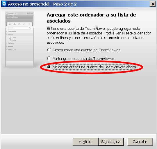 teamviewer escritorio remoto programa cuenta