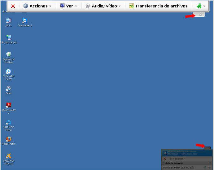 teamviewer escritorio remoto programa entorno
