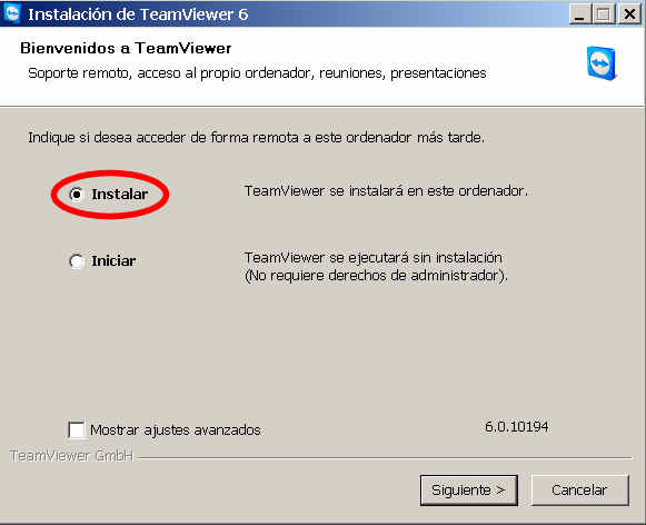 teamviewer escritorio remoto programa instalacion