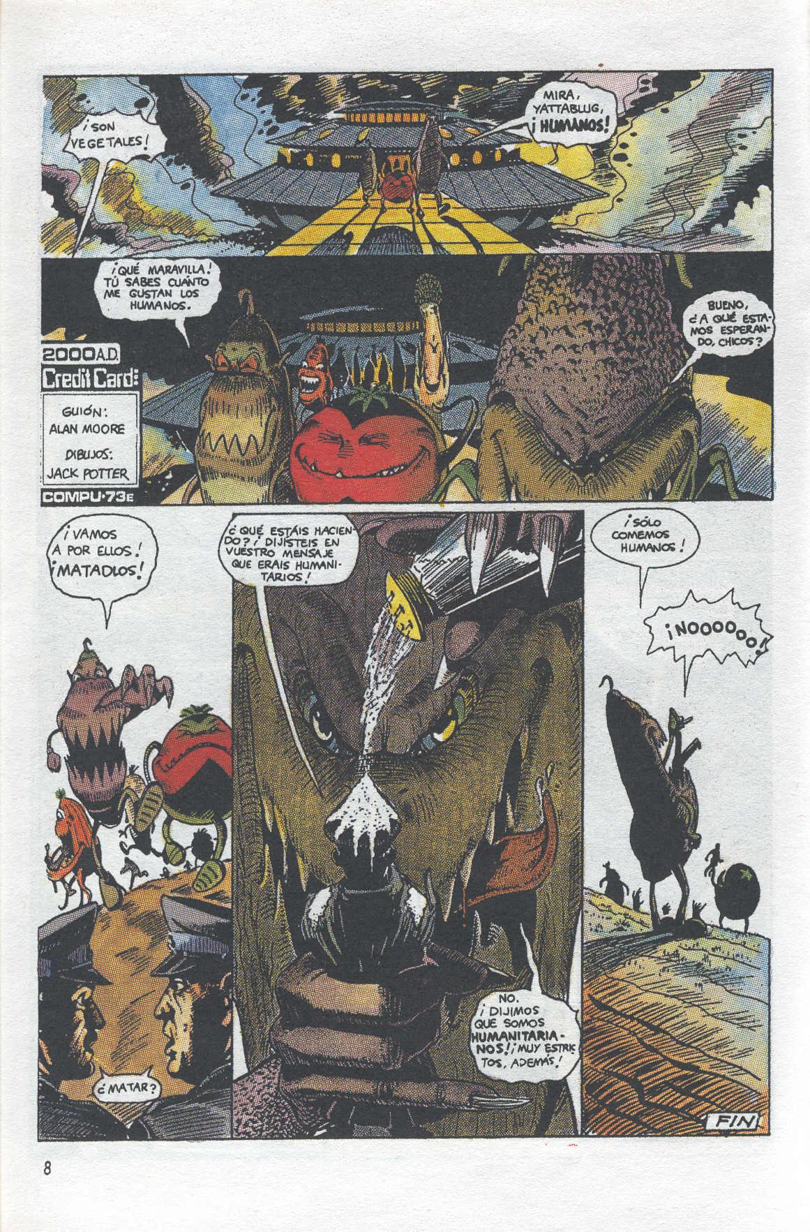 tiempo cero la ensalada 2000 a.d. comics