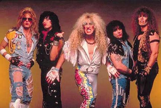 twisted sister grupo maquillaje