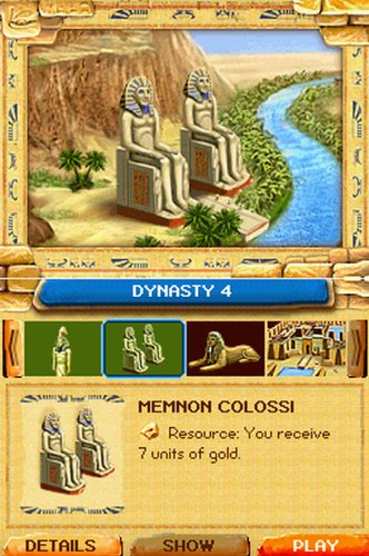 Jewel Master Egypt Nintendo DS nds