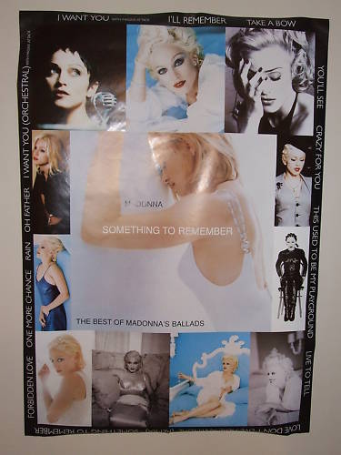Madonna-Something-To-Remember-promo poster