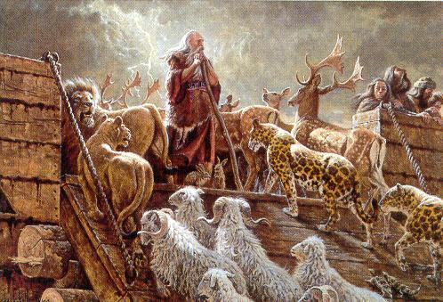 Noe arca animales